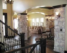 Stone Pillars Design Ideas, Pictures, Remodel, and Decor