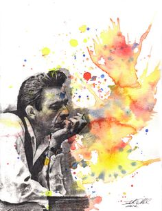 Hey, I found this really awesome Etsy listing at https://www.etsy.com/listing/195567221/johnny-cash-portrait-fine-art-poster