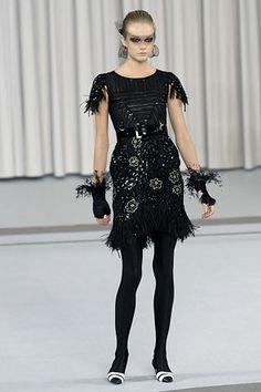 Chanel Spring 2007 Couture Fashion Show - Raquel Zimmermann