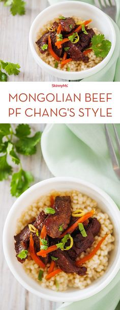 """We found a simple way to """"skinnify"""" PF Chang's Mongolian Beef and now you can make it too!"""