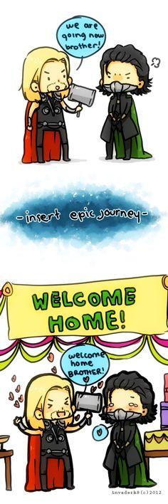 THORKI: Welcom Home by ~invaderk8 on deviantART