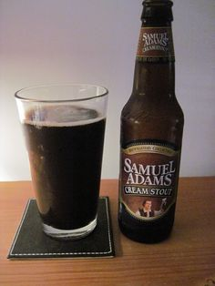 Samuel Adams Cream Stout  Boston Beer Company (Samuel Adams) Milk / Sweet Stout 4.90 (4)