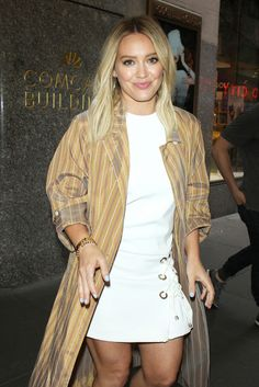 Hilary Duff  Leaving Her Hotel in New York City June-2016  actress Hilary Duff
