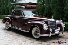 Mercedes-Benz Cabriolet-A Tokyo . Mercedes 220, Mercedes Sport, Mercedes Benz Autos, Retro Cars, Vintage Cars, Antique Cars, Mercedes Classic Cars, Convertible, Cabriolet