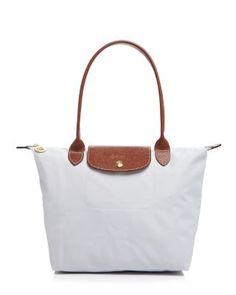 LONGCHAMP Le Pliage Medium Shoulder Bag. #longchamp #bags #shoulder bags #hand bags #nylon #leather #