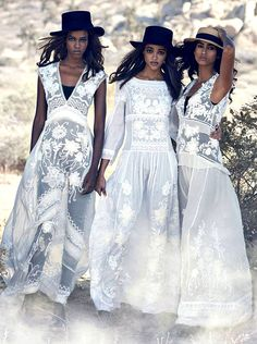 Inspired by the 1975 film Picnic at Hanging Rock - Peter Lindbergh for US Vogue