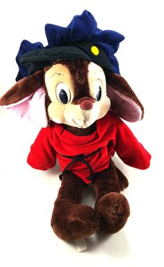 Fievel an American Tail Plush (1986)  Designed by Caltoy for Sears with the release of the movie An American Tail in 1986