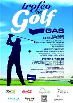 Golf y mucho más | Blog · Torneo #Golf GAS en el campo Ganguren Golf con regalos Ideus