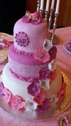 Doptårta christeningcake