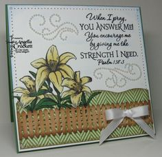 Bible Verses For Encouragement | Body, Mind, Spirit, and STAMPS!: June 2010