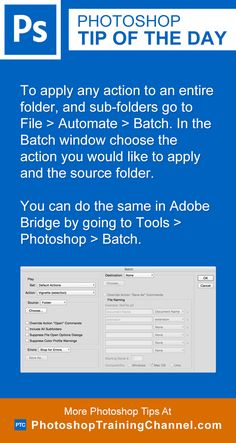 To apply any action to an entire folder and sub-folders go to File > Automate > Batch. In the Batch window choose the action you would like to apply and the source folder. You can do the same in Adobe Bridge by going to Tools > Photoshop > Batch.