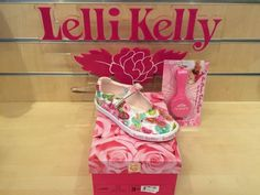 *New* Lelli Kelly Maisie White or Pink Fantasy Girls Canvas Shoes Size 25 - 35