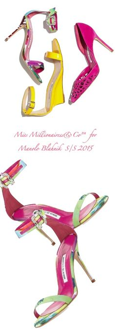 Manolo Blahnik S/S 2015 | my sexy shoes 2