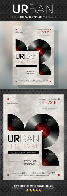 30 Striking CMYK Inspired Flyer Templates Discos, Retro and - retro flyer templates