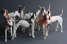 Ostinelli and Priest - Portfolio - Ceramic Animal Sculptures