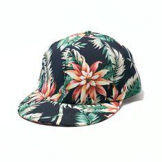 ボタニカルパターンキャップ (メンズ&レディース) - BACKWARD(バックワード) ONLINE STORE : 帽子とファッション雑貨オンラインセレクトショップ