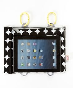 Love this Black Dot to Trot Tablet Case by Car Seat Cinema on #zulily! #zulilyfinds