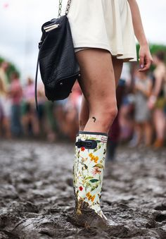 These Hunter boots designed for the Royal Horticultural Society incorporate the perfect amount of floral.