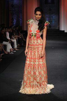 Falguni & Shane Peacock Couture Collection at India Bridal Fashion Week 2012