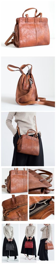 , - Handcrafted Women's Fashion Leather Handbag Messenger Bag Crossbody Bag Smal…, - Fashion Bags, Women's Fashion, Fashion Group, Photography Bags, Satchel, Crossbody Bag, Designer Leather Handbags, Canvas Leather, Leather Bags