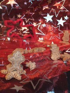 Vánoční cukroví pro psy a kočky Psi, Meat, Food, Essen, Meals, Yemek, Eten