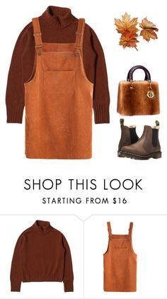 """Sans titre #1341"" by sarabutterfly ❤ liked on Polyvore featuring Dr. Martens"