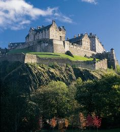 Edinburgh Castle. ( Mary Queen of Scots - My Family History)