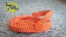 sandalias bebe crochet gratis patron free pattern crocs