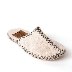 Camel wool slipper by Zakhs