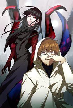 ||Tokyo Ghoul: Re|| nishiki i hope you kill that bitch kurona shes a crazy bitch okay plz do she tried to KILL JUUZOU THE BITCH