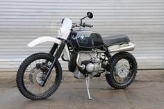 Bmw Cafe Racer, Cafe Racers, Bmw Motorbikes, Bmw Motorcycles, Custom Motorcycles, Custom Bikes, R65, Bmw Scrambler, Bmw Boxer