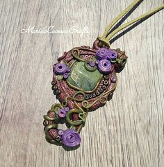 Hey, I found this really awesome Etsy listing at https://www.etsy.com/listing/519992567/magical-pendant-elven-jewelry-greenstone