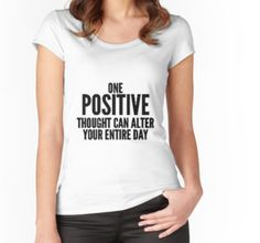 """""""Positive Quote"""" Classic T-Shirts by desainbyliliana 