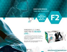 Forever FIT 2 will take you to the next level by helping you tone your body, burn more calories and transform. www.sharronatilla.biz