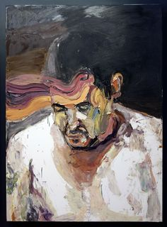 Ben Quilty Troy Park, after Afghanistan 2012 Oil on linen <:((((><(