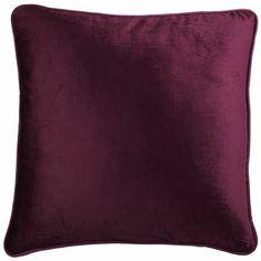 Velvet Pillow - Italian Plum
