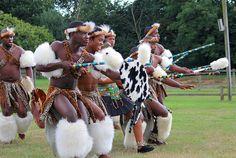 Zulu Traditional Dancers, South Africa