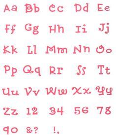 QuicKutz Maggie Mini's Complete Alphabet Dies