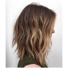 60 Balayage Hair Color Ideas with Blonde, Brown, Caramel and Red... ❤ liked on Polyvore featuring beauty products, haircare, hair and hairstyle