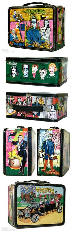 Vintage Munsters lunch box
