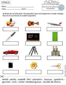 Minihogarkids Ejercicios De Vocabulario Valenciano Fichas 1 2 3 4 Y 5 Vocabulario En Ingles Ejercicios De Ingles Vocabulario