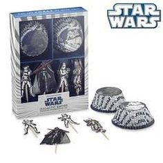 Star Wars Galactic Empire Cupcake Decorating Kit -- For more information, visit image link.(This is an Amazon affiliate link and I receive a commission for the sales)