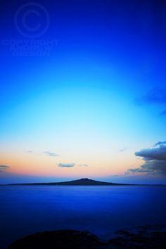 Rangitoto Island, Au