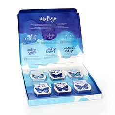 * LIMITED EDITION * Indigo inspired fragrances. Get the set of 6 bars for your warmer for only $55 NZD (excluding shipping). Order at https://laceymc.scentsy.co.nz