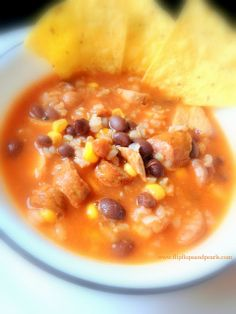 spicy mexican chicken and conecuh chili  #recipe #chili #spicy