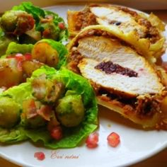 24 csodálatosan omlós karácsonyi húsétel | Nosalty Baked Potato, Potatoes, Chicken, Baking, Ethnic Recipes, Food, Potato, Bakken, Essen