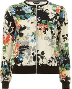 Shop for Floral bomber jacket by Dorothy Perkins at ShopStyle. Now for Sold Out.