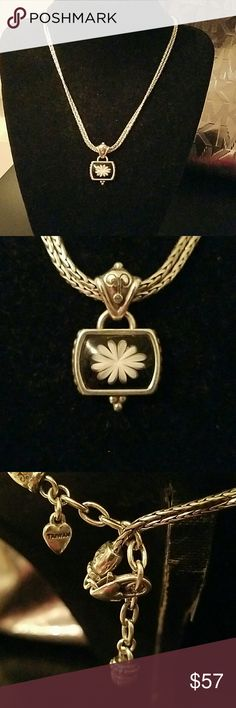 Brighton blue water Lilly necklace beautiful simple yet so classic Brighton  Jewelry Necklaces
