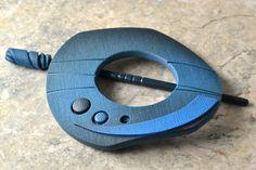 Stellar- Handmade Shawl Pin - Scarf Clasp - Cowl Pin via etsy Cat Szetu 'thatBluCat'