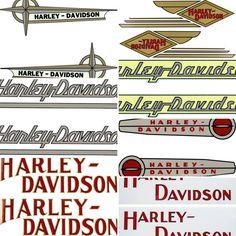 Originele Harley-Davidson Tank Decal Stickers #tekoop #aangeboden in de groep van #Motortreffer (zie: www.facebook.com/groups/motorentekoopmt) #motorentekoopmt #harley #harleydavidson #harleydavidsonsticker #harleydavidsonstickers #billythekidstore #harleyonderdelen #harleydavidsononderdelen
